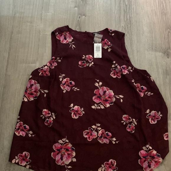 Torrid sleeveless floral top